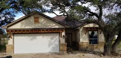 Burnet County Single Family Home Pending-Taking Backups: 405 Dove