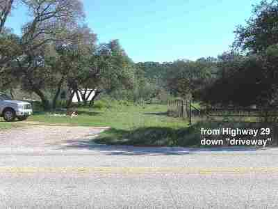 Burnet Residential Lots & Land For Sale: Oo Rm 2341