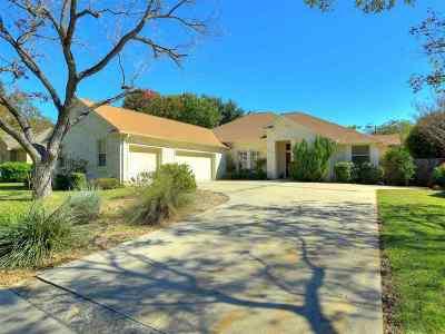 Burnet County Single Family Home Pending-Taking Backups: 283 Meadowlakes