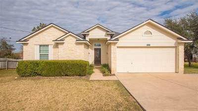 Burnet County Single Family Home For Sale: 110 Duke