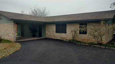 Burnet Single Family Home Pending-Taking Backups: 502 Shady Oak