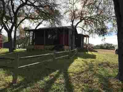 Marble Falls Rental For Rent: 348 Hickory Creek