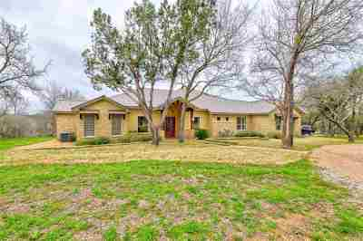 Marble Falls Single Family Home For Sale: 2403 Mormon Mill Road