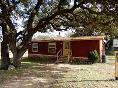 Horseshoe Bay Manufactured Home Pending-Taking Backups: 1405 Crooked Run