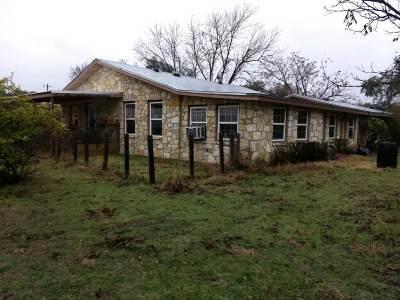 Lampasas Single Family Home Pending-Taking Backups: 7488 E Us Hwy 190