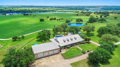 Marble Falls Farm & Ranch For Sale: 575 Cimarron Ranch