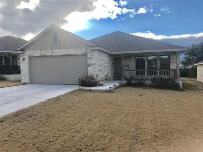Burnet County Single Family Home For Sale: 1312 Primrose