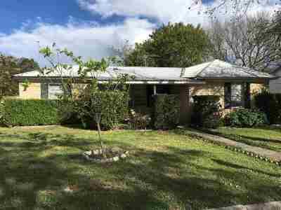 Burnet Single Family Home Pending-Taking Backups: 601 S Main St
