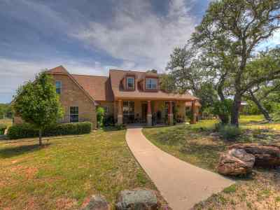 Burnet Single Family Home For Sale: 850 Rocky Hollow