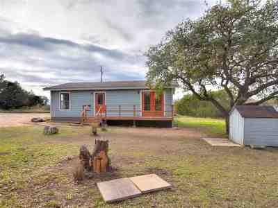 Burnet Single Family Home For Sale: 420 Sunset