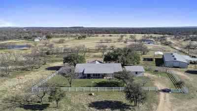 Marble Falls Farm & Ranch For Sale: 2633 County Road 120