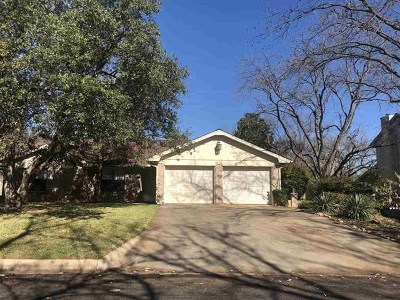 Burnet County Single Family Home Pending-Taking Backups: 316 Mahan