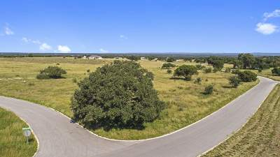 Marble Falls Residential Lots & Land For Sale: Lot 9 Vintage Oak
