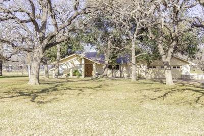 Burnet Single Family Home For Sale: 109 Sunset Circle