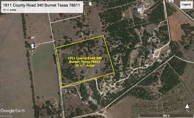 Burnet Residential Lots & Land For Sale: 1811 County Road 340