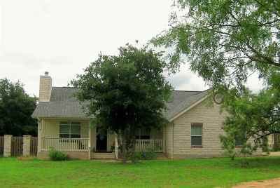 Marble Falls TX Single Family Home For Sale: $298,900