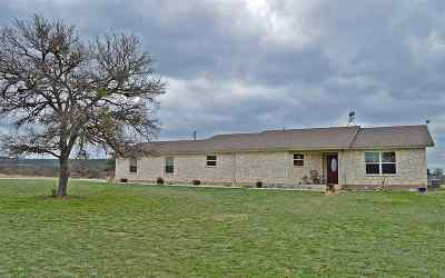 Burnet Single Family Home For Sale: 261 Lone Oak