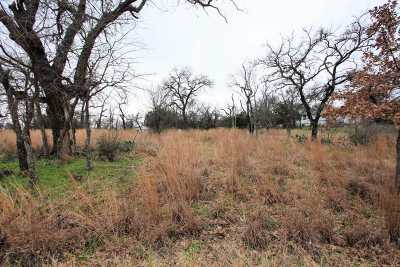 Granite Shoals Residential Lots & Land For Sale: Lot 85a Hill Burn