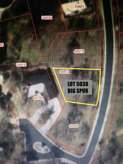 Horseshoe Bay P Residential Lots & Land For Sale: Lot 5038 Big Spur