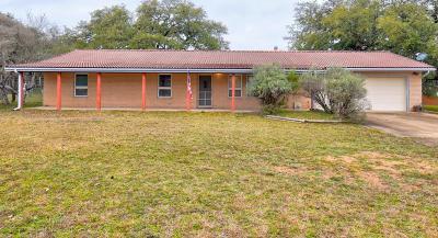 Sunrise Beach Single Family Home For Sale: 201 Oakleaf Drive