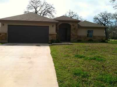 Granite Shoals Single Family Home For Sale: 1508 Kingswood