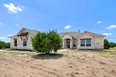 Liberty Hill TX Single Family Home For Sale: $499,850