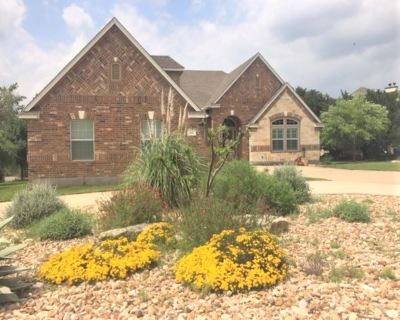 Burnet County Single Family Home For Sale: 300 Wesley Ridge