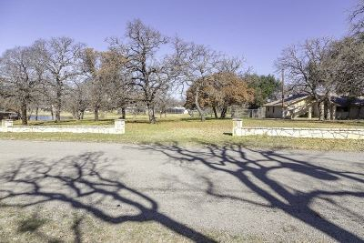 Burnet Residential Lots & Land For Sale: Lot 36 & 37 Sunset Cir