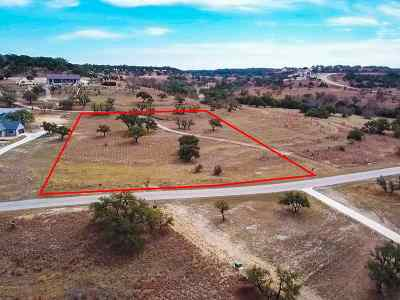 Marble Falls Residential Lots & Land For Sale: 218 Rolling Waters