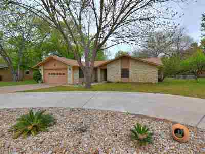 Marble Falls Single Family Home For Sale: 1203 Pecan