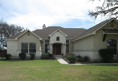 Burnet Single Family Home Pending-Taking Backups: 307 Yellow Ribbon