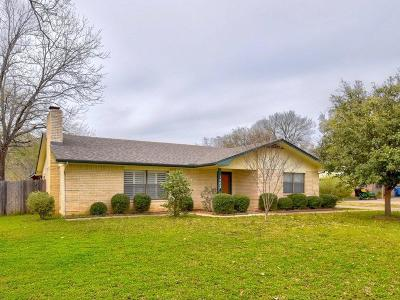 Marble Falls TX Single Family Home Pending-Taking Backups: $255,000