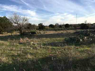 Burnet Residential Lots & Land For Sale: Lot 9 Bonanza Dr