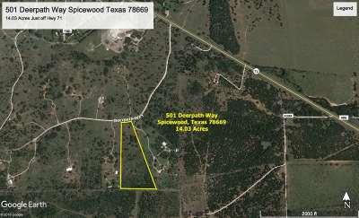 Spicewood Farm & Ranch For Sale: 501 Deerpath