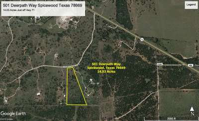 Spicewood Residential Lots & Land For Sale: 501 Deerpath