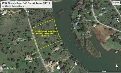 Burnet Residential Lots & Land For Sale: 2252 County Rd 140