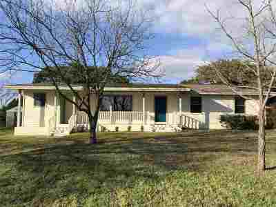 Burnet County Single Family Home For Sale: 1304 Wofford
