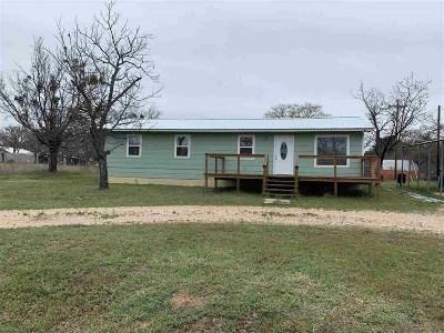 Buchanan Dam Single Family Home For Sale: 711 Pebble