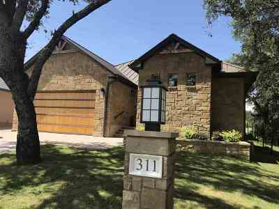 Horseshoe Bay Single Family Home For Sale: 311 Short Circuit