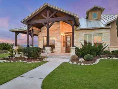 Burnet Single Family Home For Sale: 232 Eagle Ridge