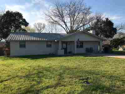 Burnet Single Family Home Pending-Taking Backups: 804 Lewis