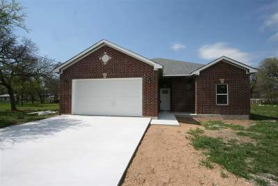Granite Shoals Single Family Home For Sale: 1409 Shady Forest