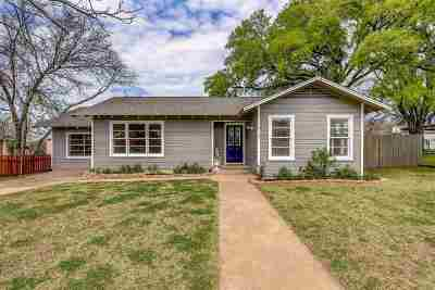 Burnet County Single Family Home Pending-Taking Backups: 415 Broadway