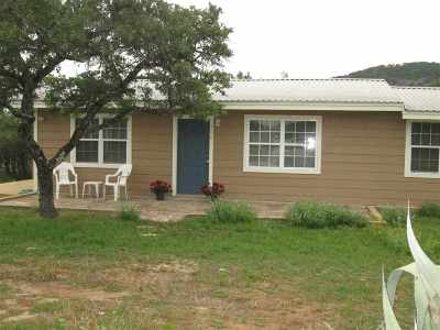 Burnet Single Family Home For Sale: 500 Gravel
