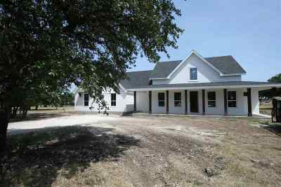 Burnet Single Family Home For Sale: 201 Honeyrock