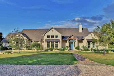 Marble Falls TX Single Family Home For Sale: $635,000