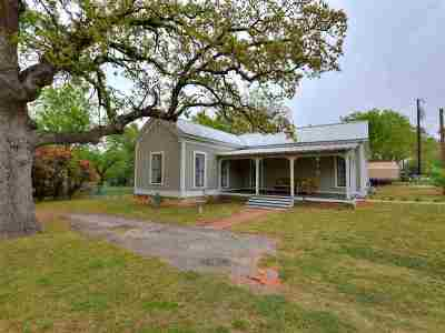 Burnet Single Family Home Pending-Taking Backups: 503 N Vandeveer