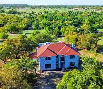 Lampasas Single Family Home Pending-Taking Backups: 4033 Fm 580 E