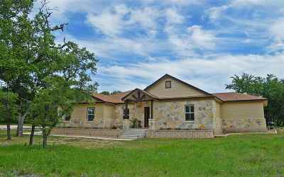 Burnet Single Family Home For Sale: 212 Thomas Ridge Road
