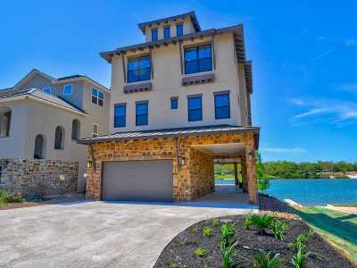 Marble Falls Single Family Home For Sale: 624 Waterside